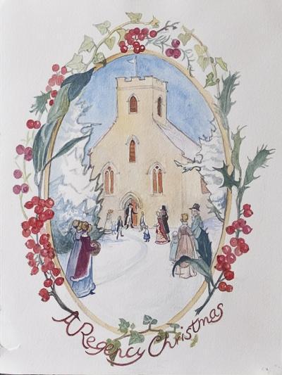 Regency Christmas, 2008-Caroline Hervey-Bathurst-Giclee Print