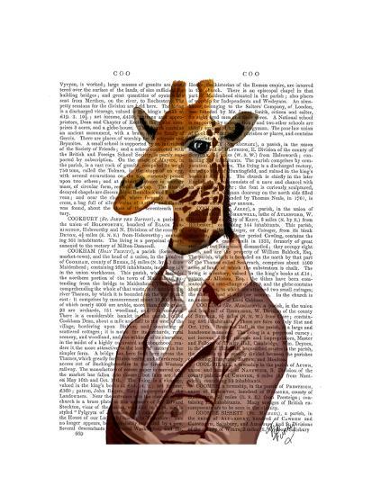 Regency Giraffe-Fab Funky-Art Print