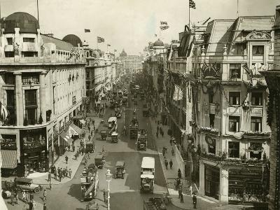 Regent Street 1927--Photographic Print