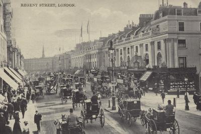 Regent Street, London--Photographic Print