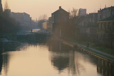 Regents Canal, London-Peter Thompson-Photographic Print