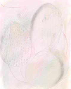 Blush Ovale II by Regina Moore
