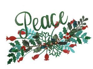 Cut Wreath Christmas II by Regina Moore