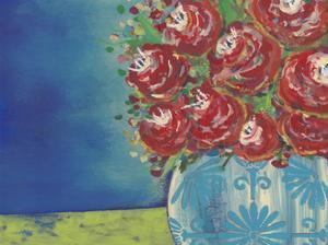 Fearless Floral II by Regina Moore