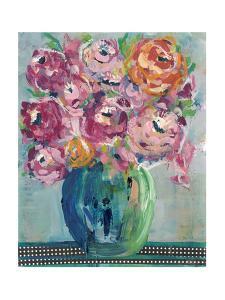 Feisty Floral II by Regina Moore