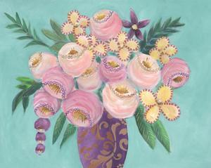Floral Dujour II by Regina Moore