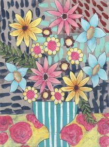 Floral Surprise I by Regina Moore