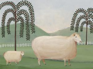 Folk Farm I by Regina Moore