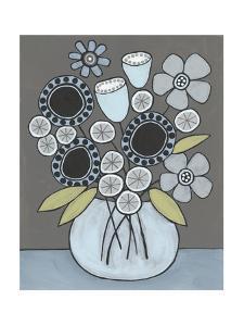 Happy Garden Flowers I by Regina Moore
