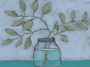 Jar of Stems II by Regina Moore