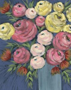 Loose Floral II by Regina Moore