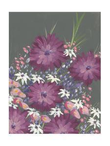 Mauve Wildflower Garden I by Regina Moore