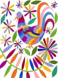 Otomi Bird I by Regina Moore