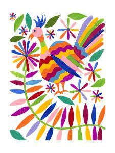 Otomi Bird III by Regina Moore