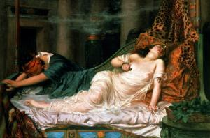 The Death of Cleopatra, 1892 by Reginald Arthur
