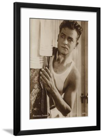 Reginald Denny--Framed Photographic Print
