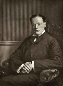 Winston Churchill by Reginald Haines
