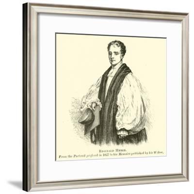 Reginald Heber--Framed Giclee Print