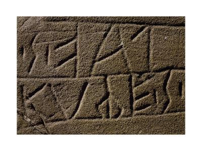Registration of Euganean Population, Italian Civilization, 4th-2nd Century BC--Giclee Print