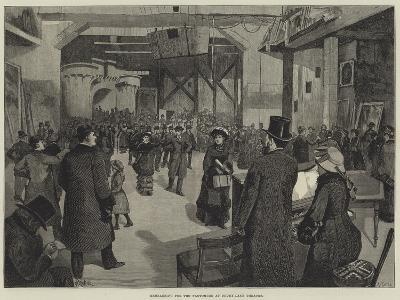 Rehearsing for the Pantomime at Drury-Lane Theatre-Amedee Forestier-Giclee Print