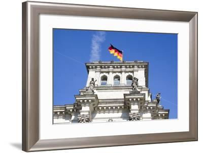 Reichstag. Parliament Building. Berlin. Germany-Tom Norring-Framed Photographic Print