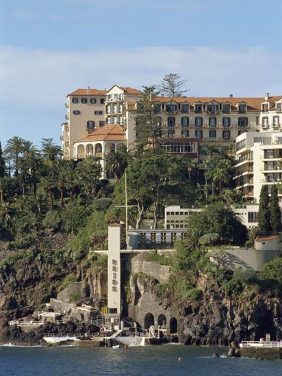 Reid's Hotel, Funchal, Madeira, Portugal, Atlantic, Europe-Harding Robert-Photographic Print