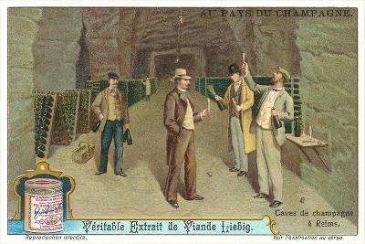Reims Champagne Caves--Art Print