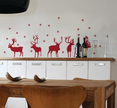 Reindeer--Wall Decal