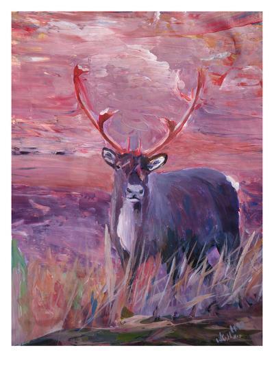 Reindeer-M Bleichner-Art Print
