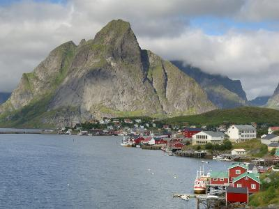 Reine, Moskenesoya, Lofoten Islands, Norway, Scandinavia-Gary Cook-Photographic Print