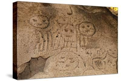 Prehistoric Rock Engravings of Taino Culturedominican Republic