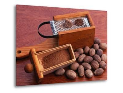 Nutmeg and Grater (Myristica Fragrans)