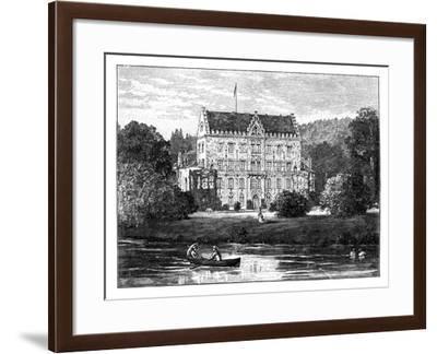 Reinhardsbrunn, Near Gotha, Germany--Framed Giclee Print