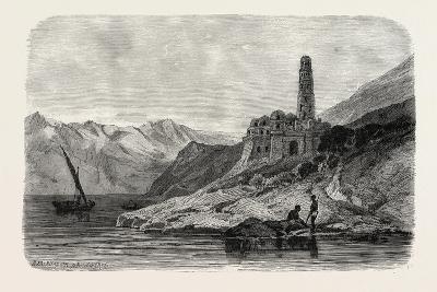 Reins of a Koptic Monastery Near Philae. Egypt, 1879--Giclee Print