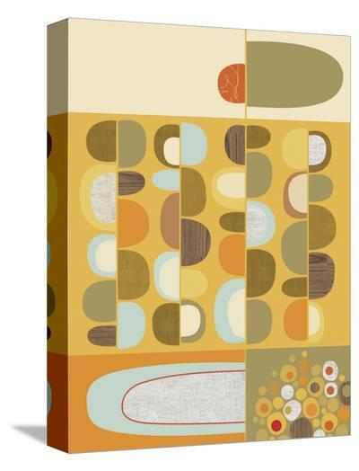 Rejilla No. 2-Jenn Ski-Stretched Canvas Print
