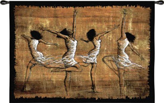 Rejoice-Monica Stewart-Wall Tapestry