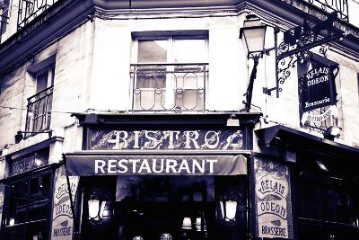 Relais Odeon Restaurant, Left Bank, Paris, France-Russ Bishop-Photographic Print