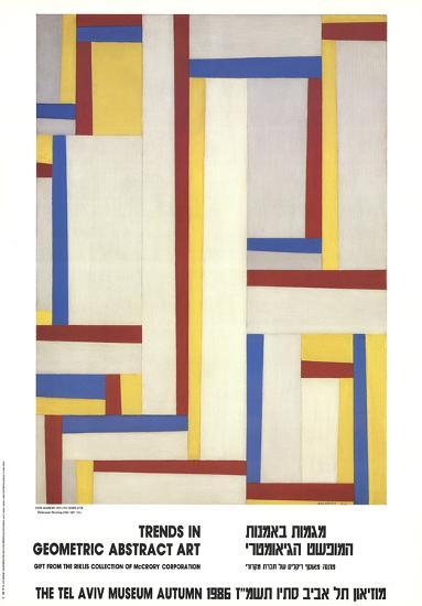 Relational Painting-Fritz Glarner-Art Print