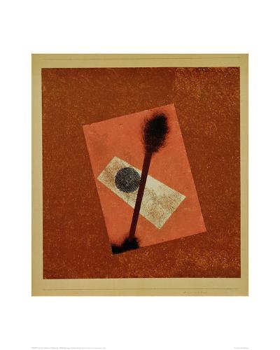 Relatively Weighed Up, 1930-Paul Klee-Giclee Print