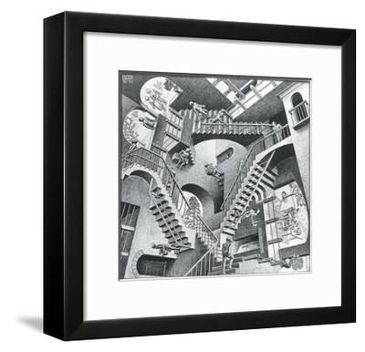 Relativity-M. C. Escher-Framed Art Print