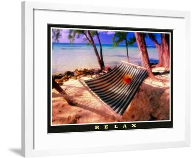 Relax at Rum Point-George Oze-Framed Photographic Print