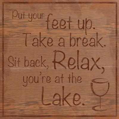 Relax Lake-Lauren Gibbons-Premium Giclee Print