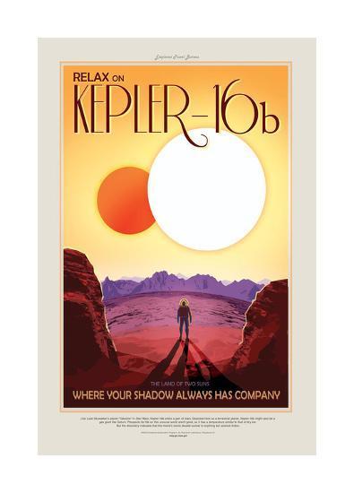 Relax On Kepler--Giclee Print