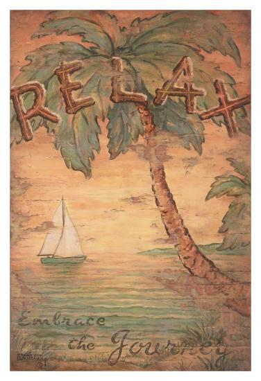 Relax-Janet Kruskamp-Art Print