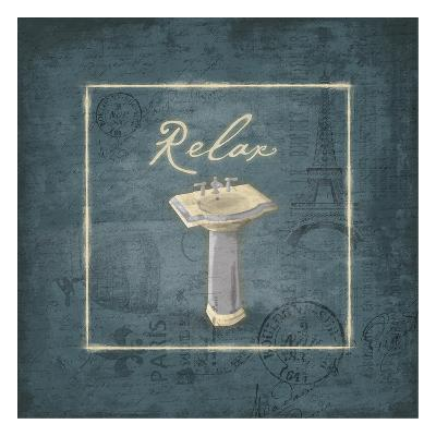 Relax-Jace Grey-Art Print