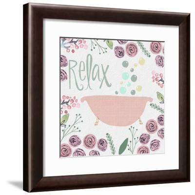 Relax-Katie Doucette-Framed Art Print