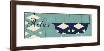 Relax-Sheldon Lewis-Framed Art Print