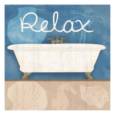 Relaxing Bath-Lauren Gibbons-Art Print