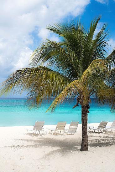 Relaxing Beach-Bill Carson-Art Print