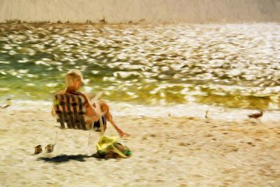 Relaxing Day II - In the Style of Oil Painting-Philippe Hugonnard-Giclee Print